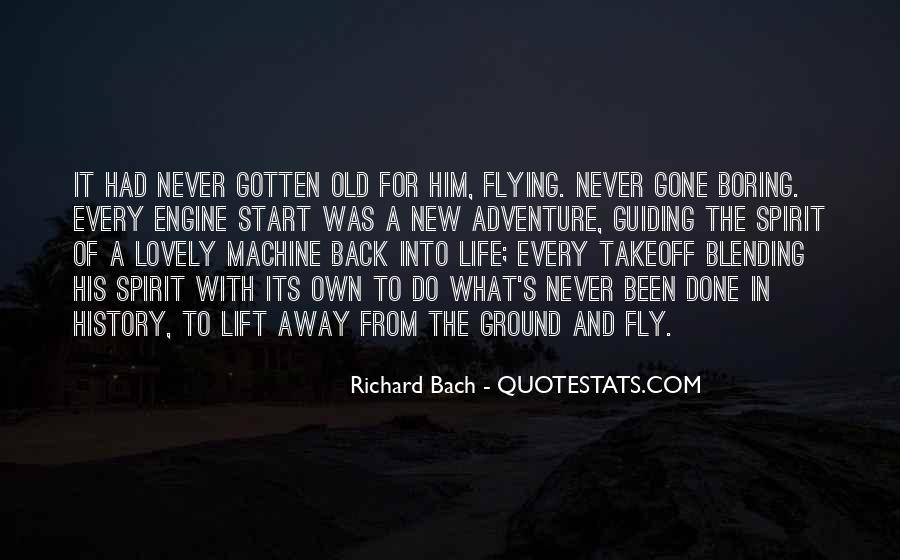 Quotes About Flying And Life #1777108