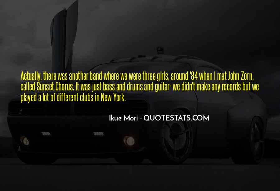 Quotes About Drums And Bass #113450