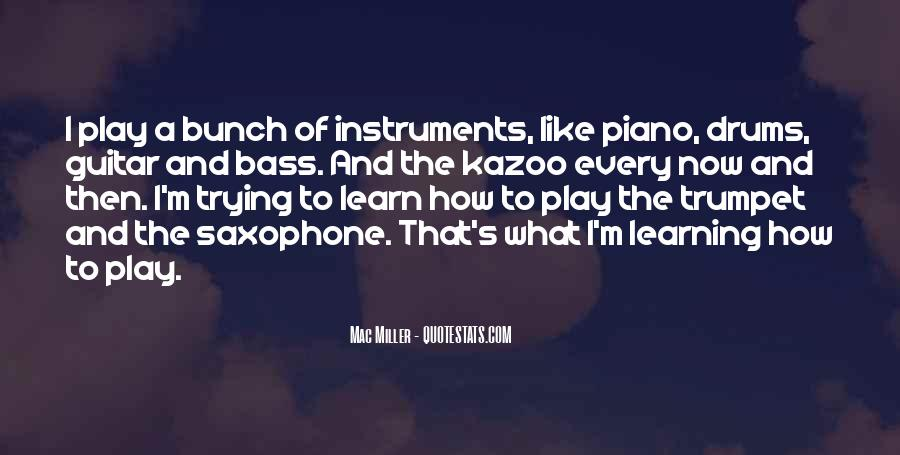 Quotes About Drums And Bass #1146525