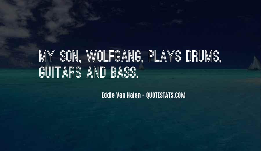Quotes About Drums And Bass #1538313