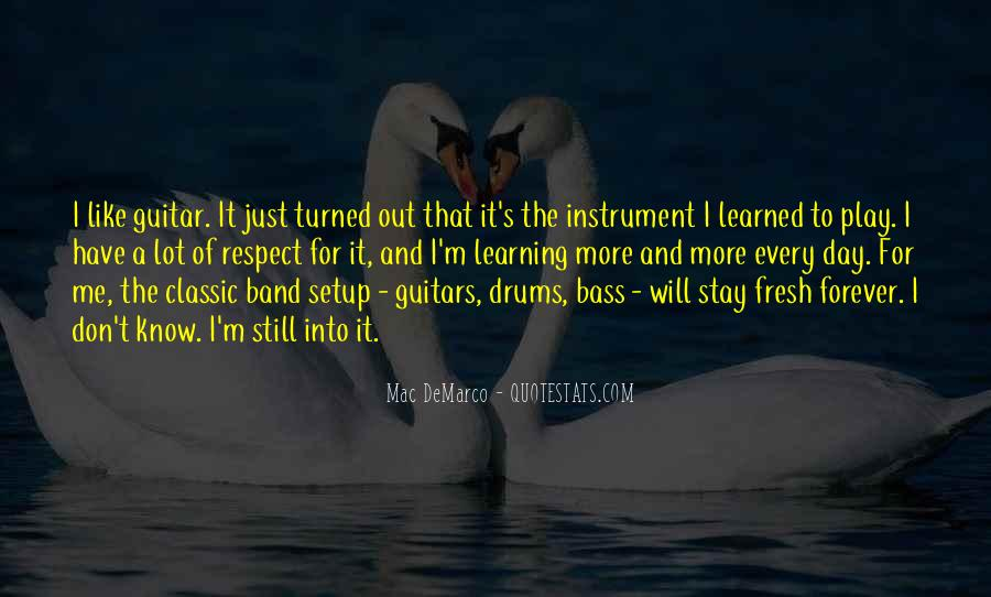 Quotes About Drums And Bass #313566