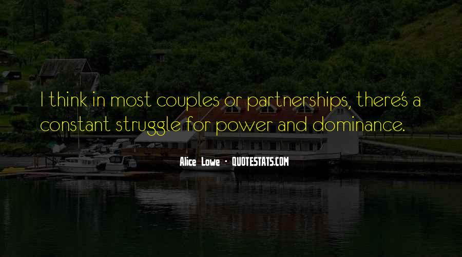 Quotes About A Power Couple #1144822