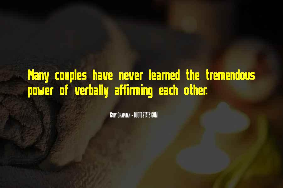 Quotes About A Power Couple #285660