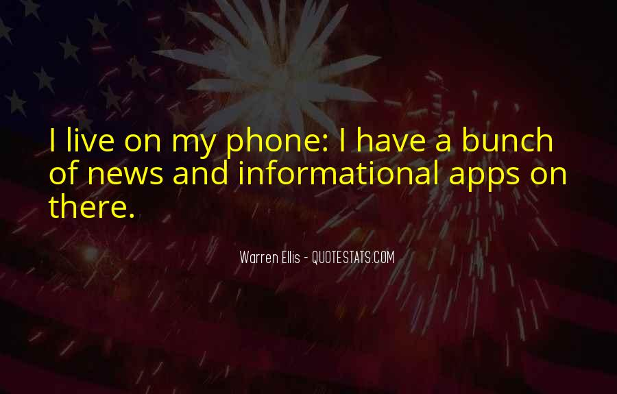 Quotes About Phone Apps #66673