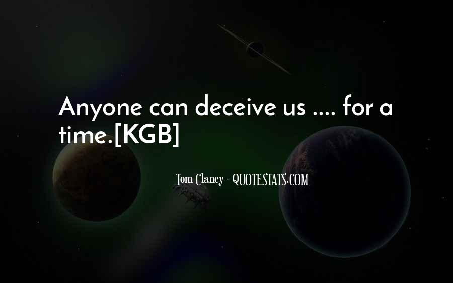 Quotes About Kgb #1311506