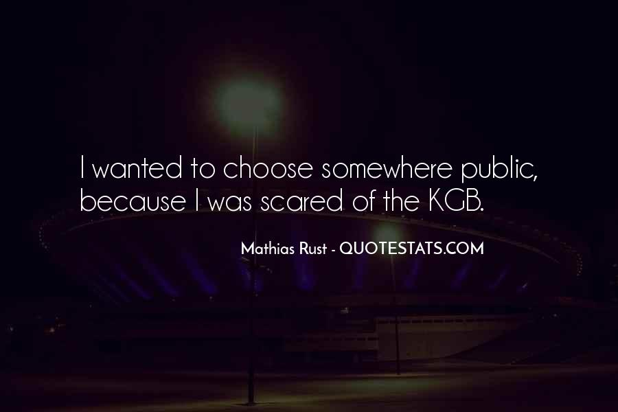 Quotes About Kgb #1599122