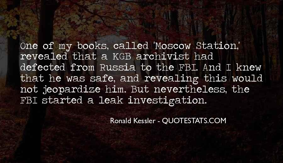 Quotes About Kgb #412506