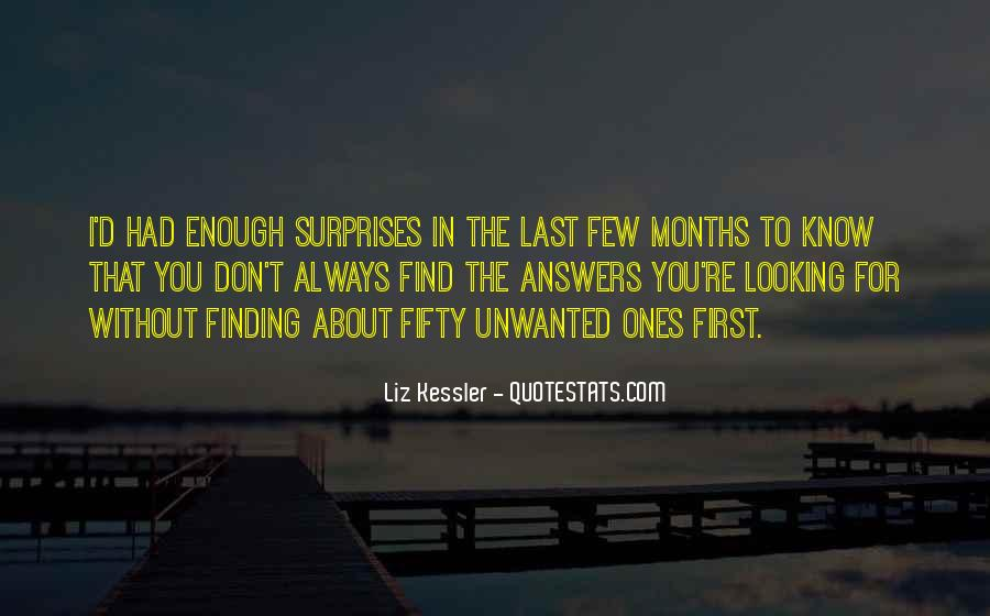 Quotes About Looking For Answers #736473