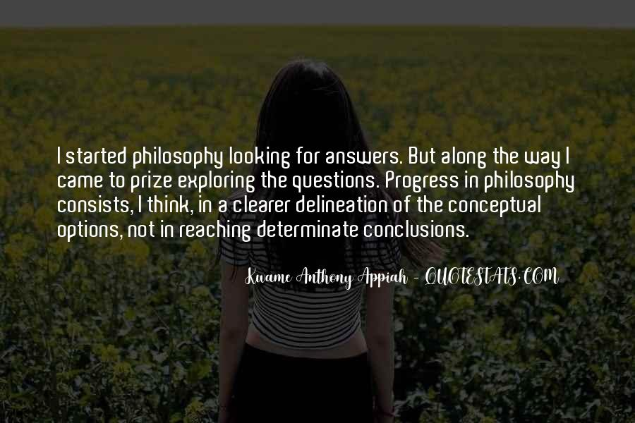 Quotes About Looking For Answers #85602