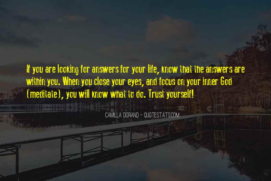 Quotes About Looking For Answers #930381
