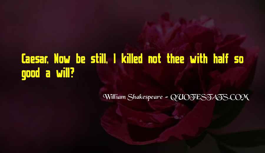 Quotes About Brutus In Julius Caesar #1499829