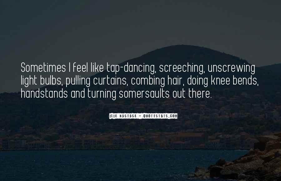 Quotes About Handstands #405526