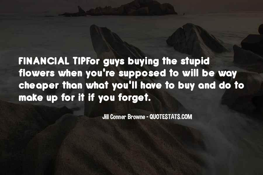 Quotes About Guys Buying Flowers #116132