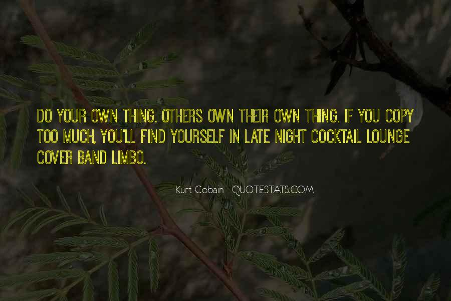 Quotes About Originality In Music #1066555