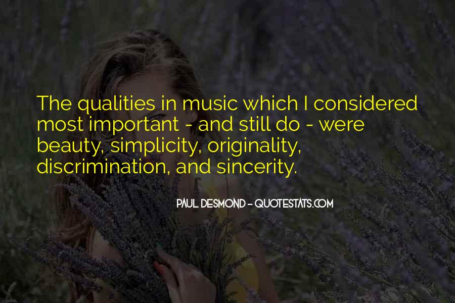 Quotes About Originality In Music #368611
