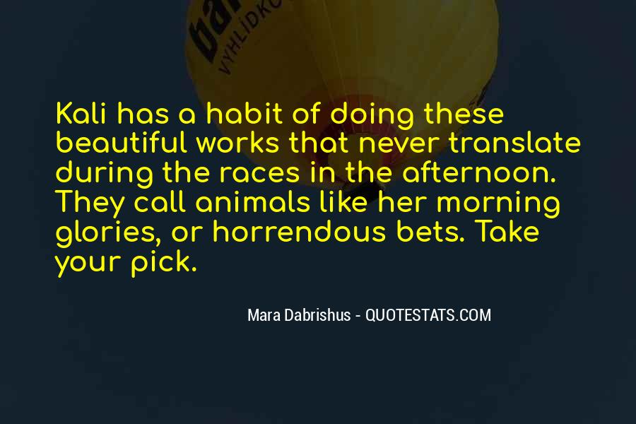 Quotes About Horse Racing #540381
