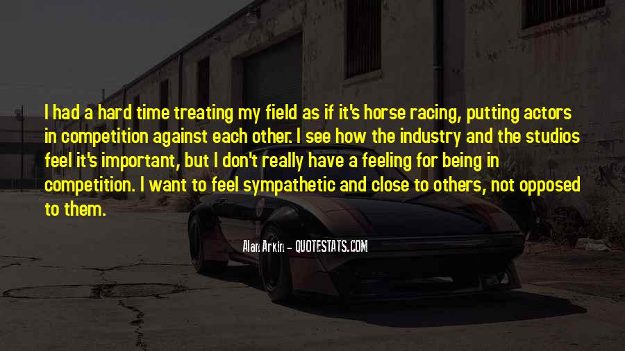 Quotes About Horse Racing #800765