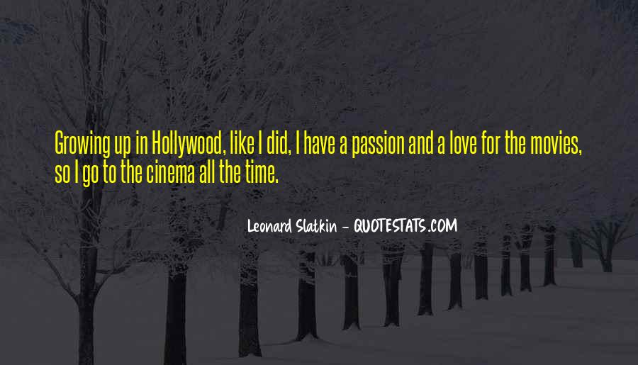 Quotes About Growing Up In Love #1180632