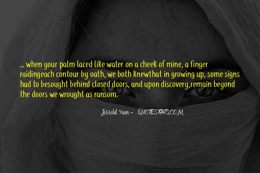 Quotes About Growing Up In Love #1301998