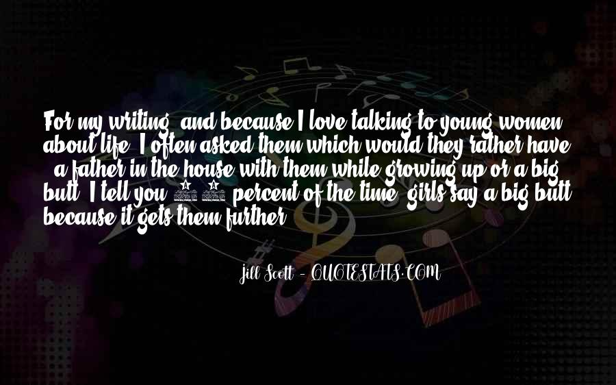 Quotes About Growing Up In Love #1544883