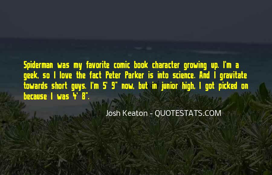 Quotes About Growing Up In Love #1876702
