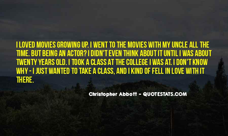 Quotes About Growing Up In Love #429444