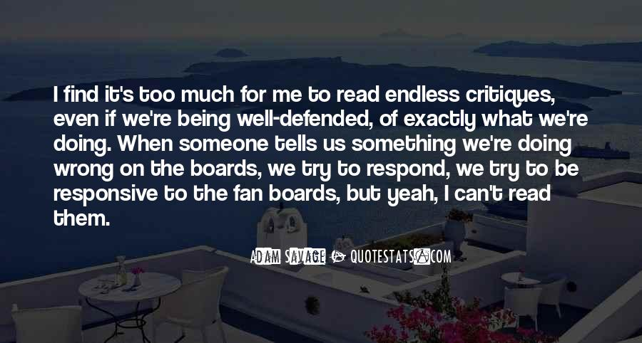 Quotes About Being Defended #1017185
