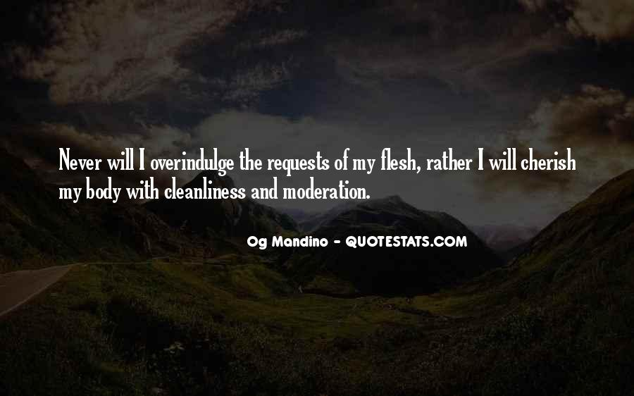Quotes About Doing Things In Moderation #96351