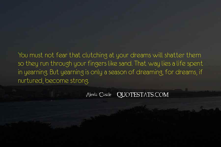 Quotes About Clutching #190082