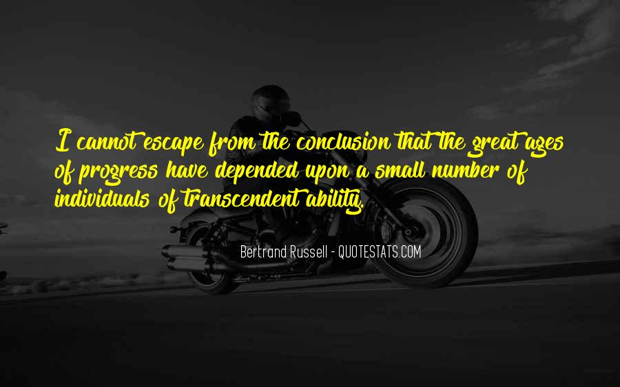 Quotes About The Great Escape #23838