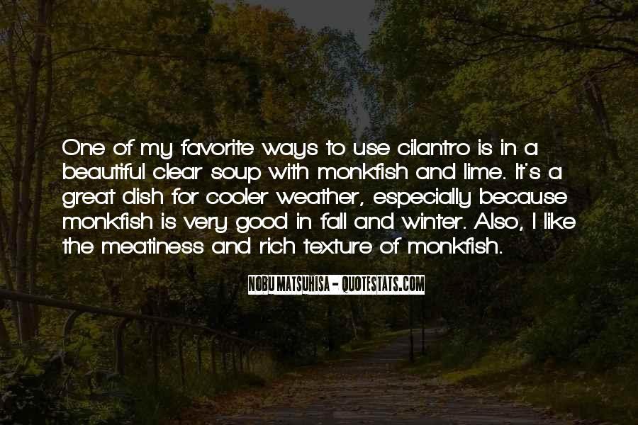 Quotes About Cilantro #463567