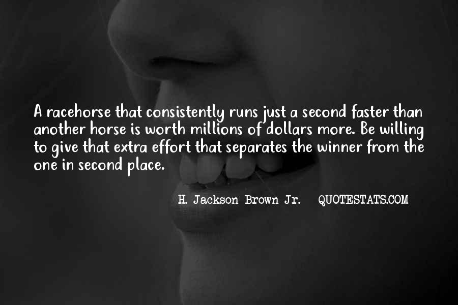 Quotes About Extra Effort #148588