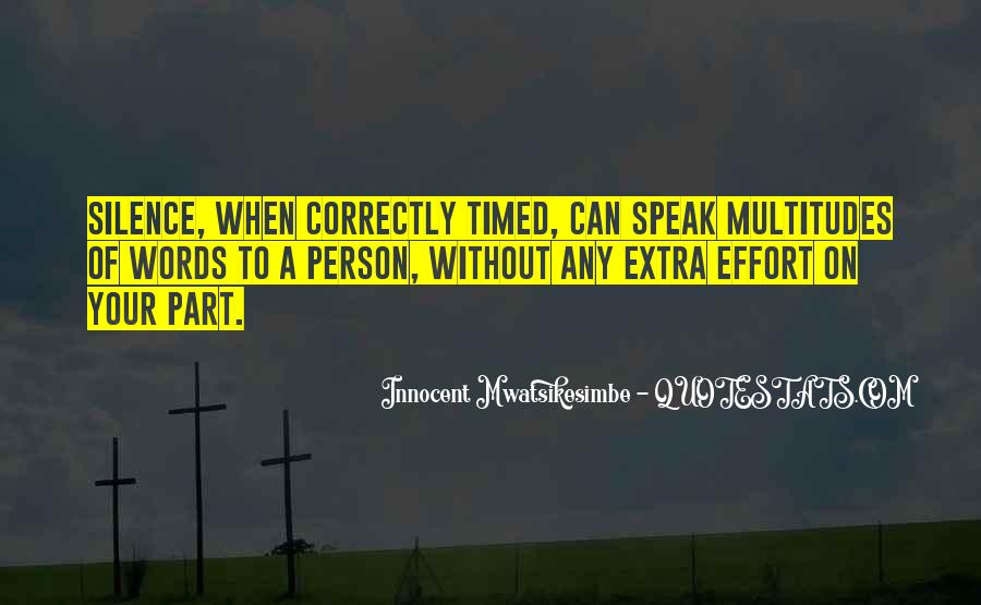Quotes About Extra Effort #1570441