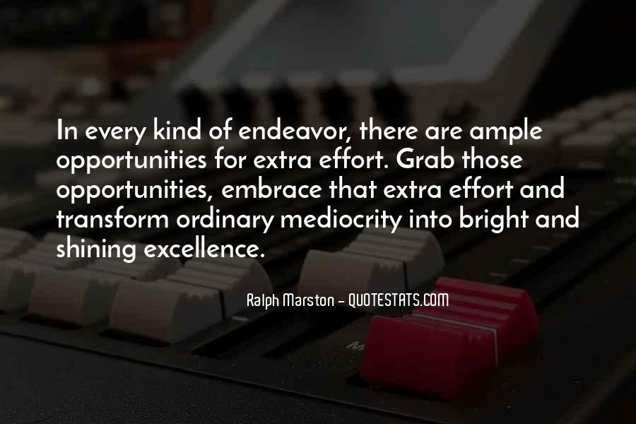 Quotes About Extra Effort #363974