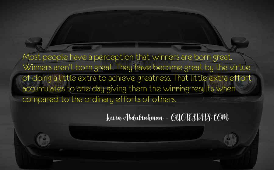 Quotes About Extra Effort #377449