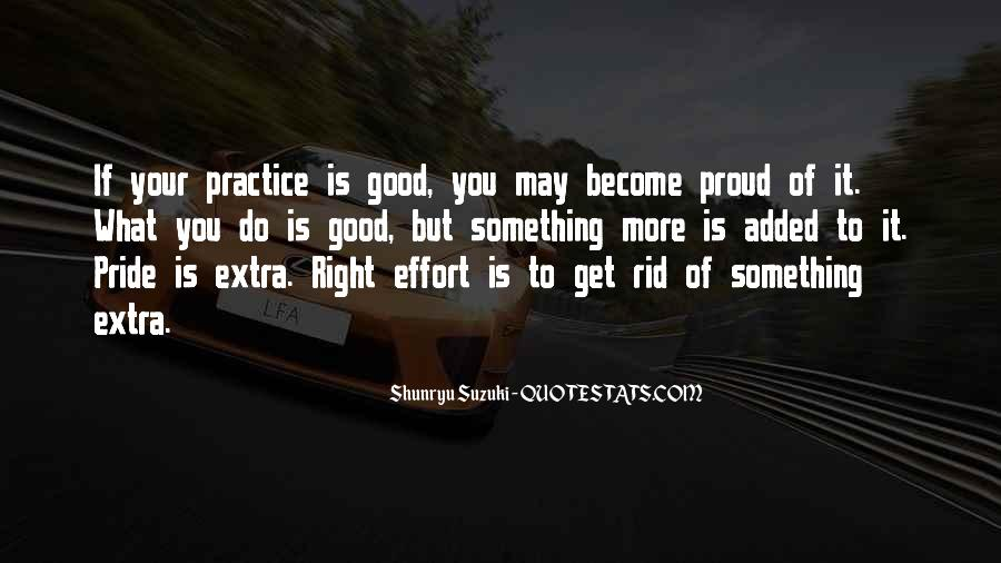 Quotes About Extra Effort #888342
