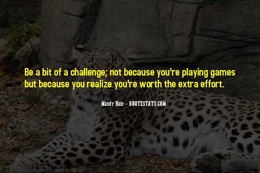Quotes About Extra Effort #950843