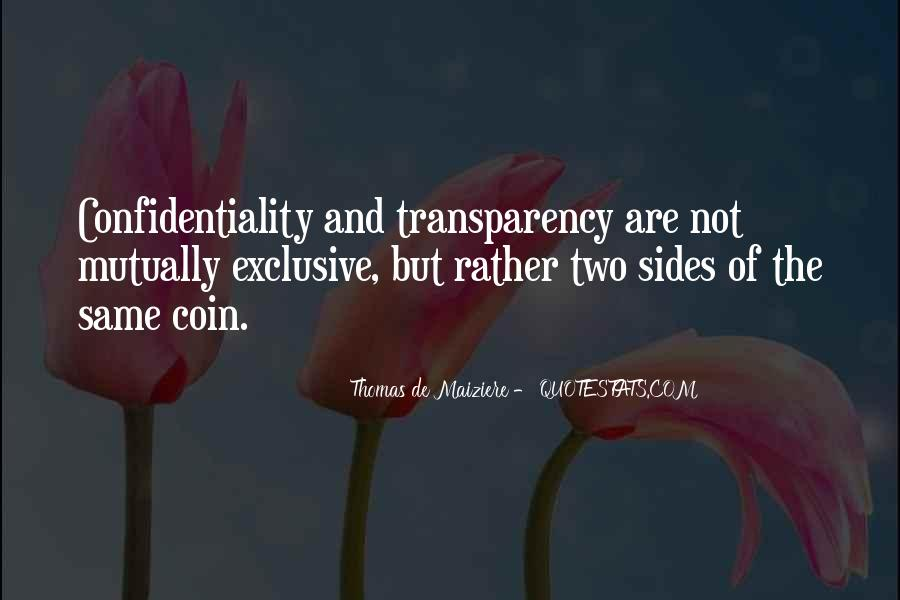 Quotes About Both Sides Of The Coin #10985