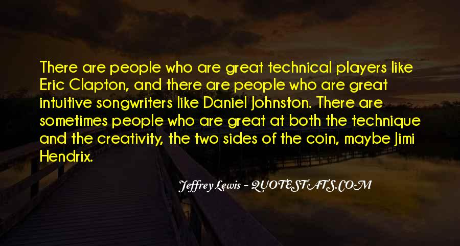 Quotes About Both Sides Of The Coin #1175292