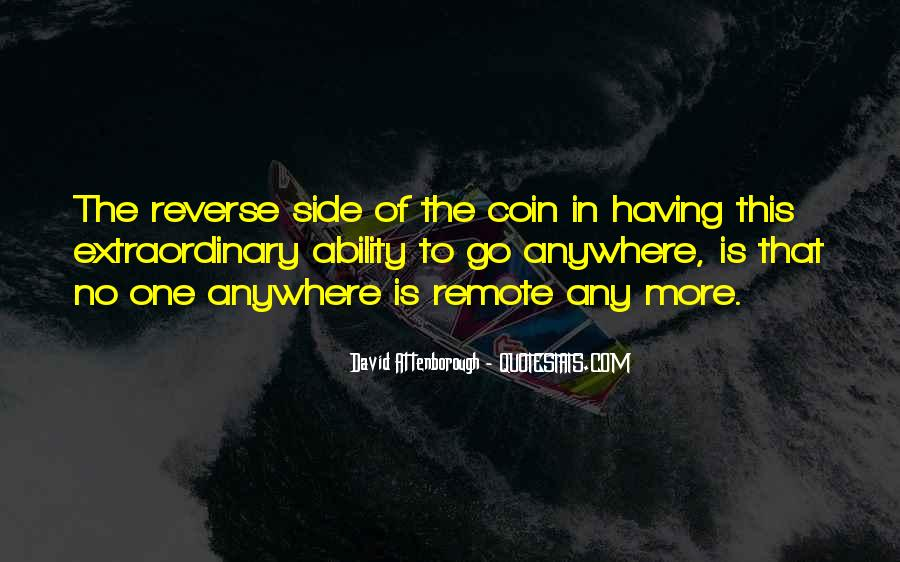Quotes About Both Sides Of The Coin #27336