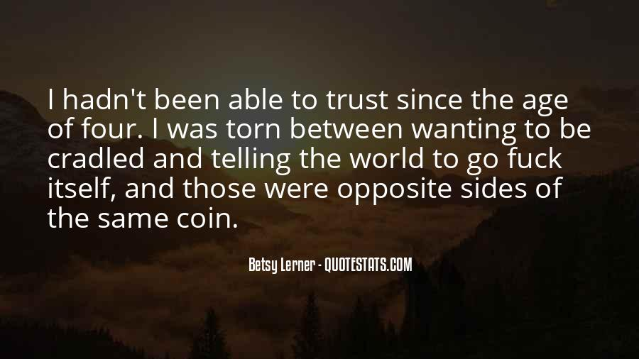Quotes About Both Sides Of The Coin #764993