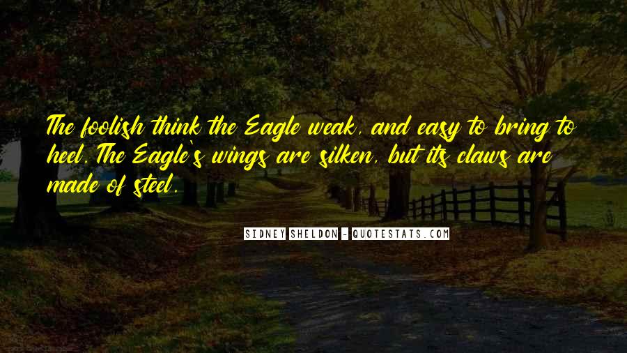 Quotes About Eagles Wings #127374