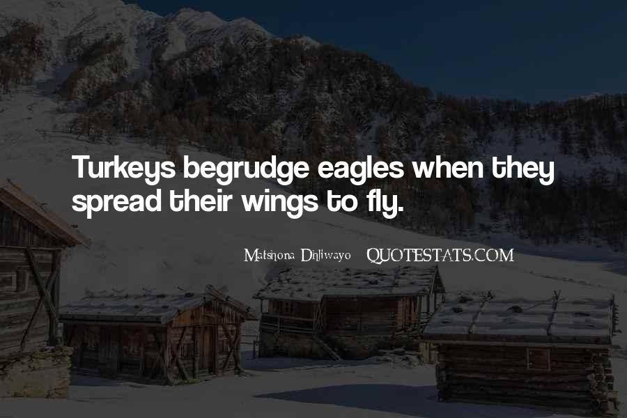 Quotes About Eagles Wings #1492431