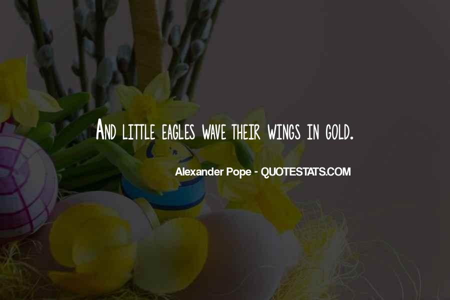 Quotes About Eagles Wings #1523841