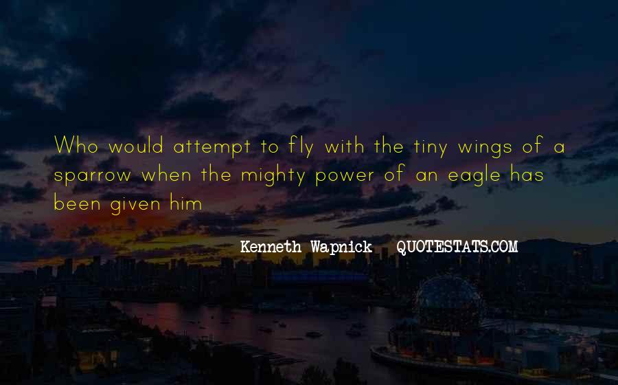 Quotes About Eagles Wings #456348
