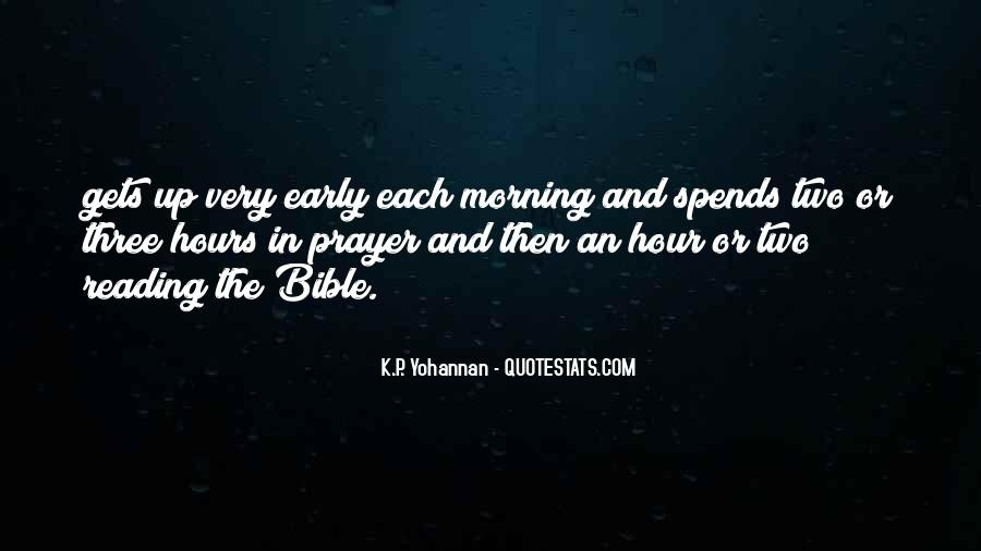 Quotes About Early Morning Prayer #160848