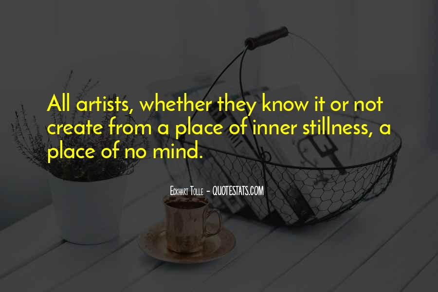 Quotes About Inner Stillness #1500455