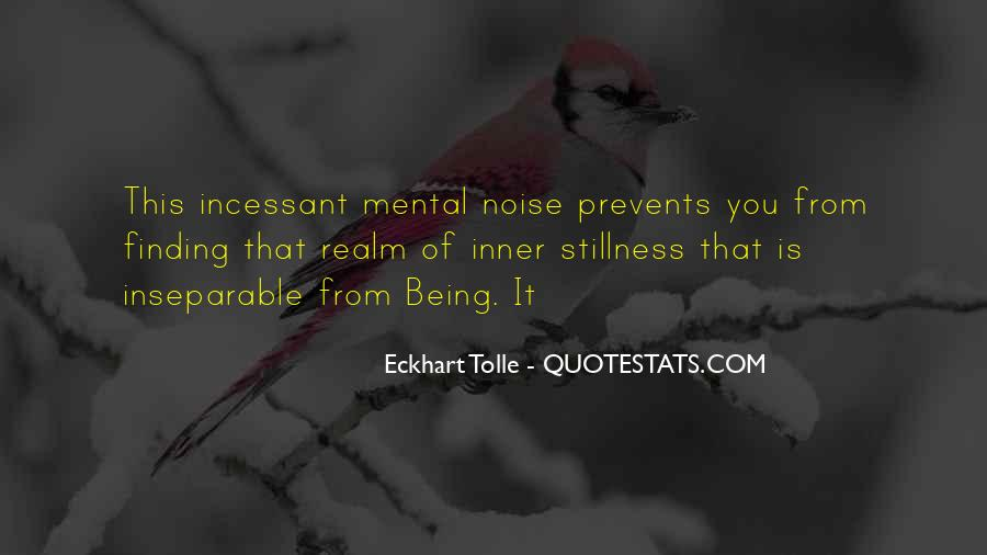 Quotes About Inner Stillness #173955