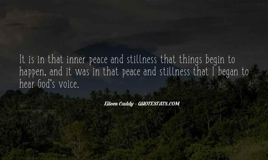 Quotes About Inner Stillness #1768790