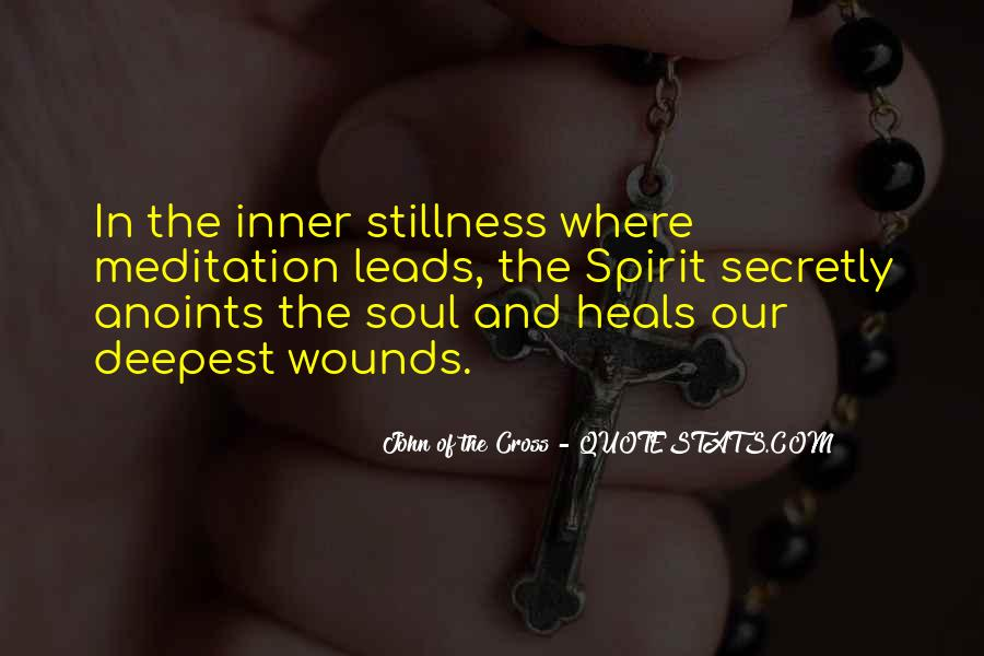 Quotes About Inner Stillness #768477